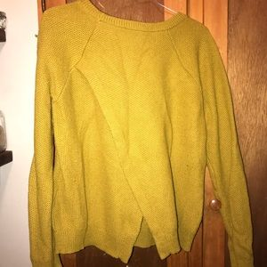 Madewell pull over sweater